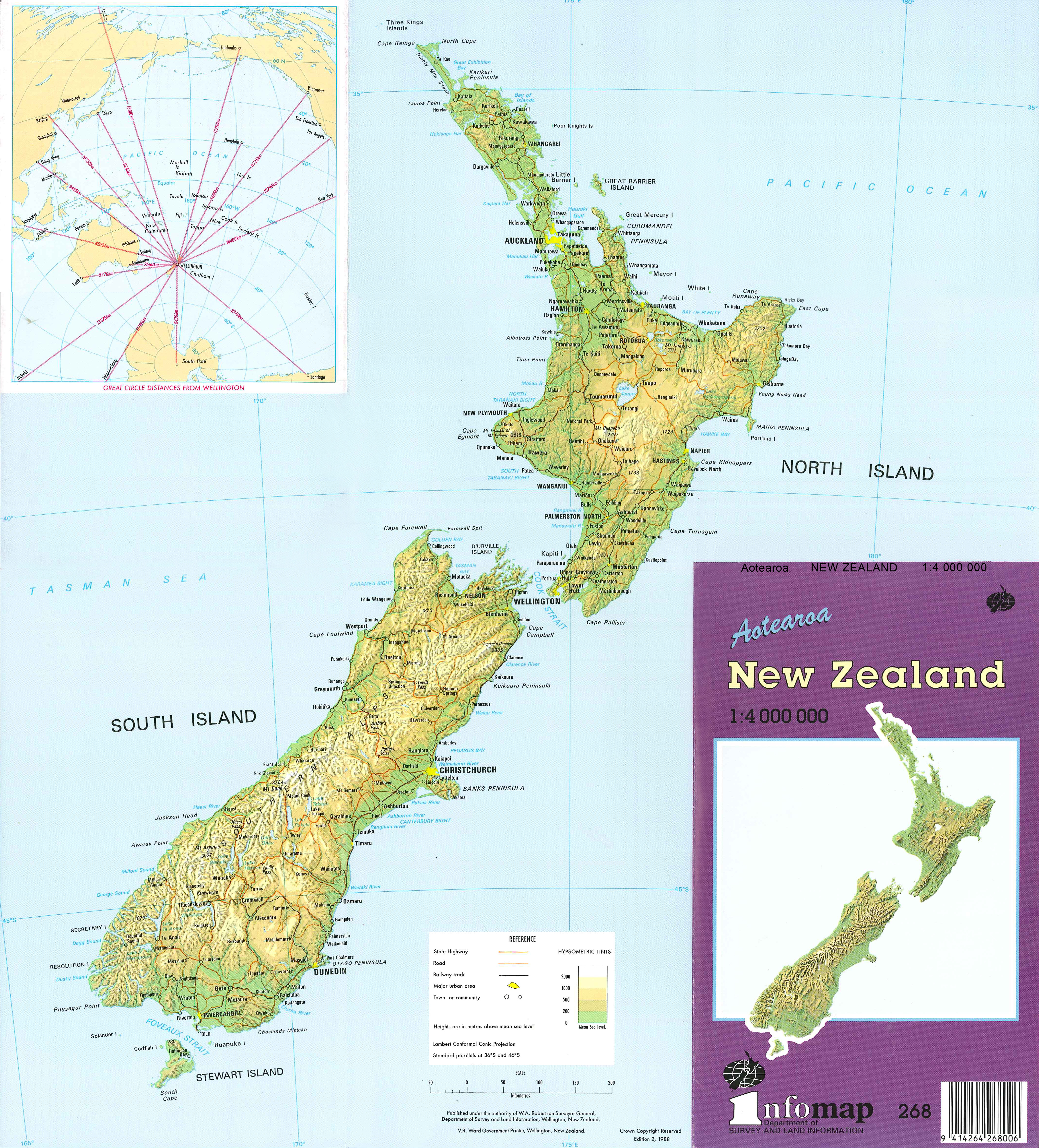 New Zealand Map With Cities And Towns.Maps Of New Zealand Maoripakeha Co Nz