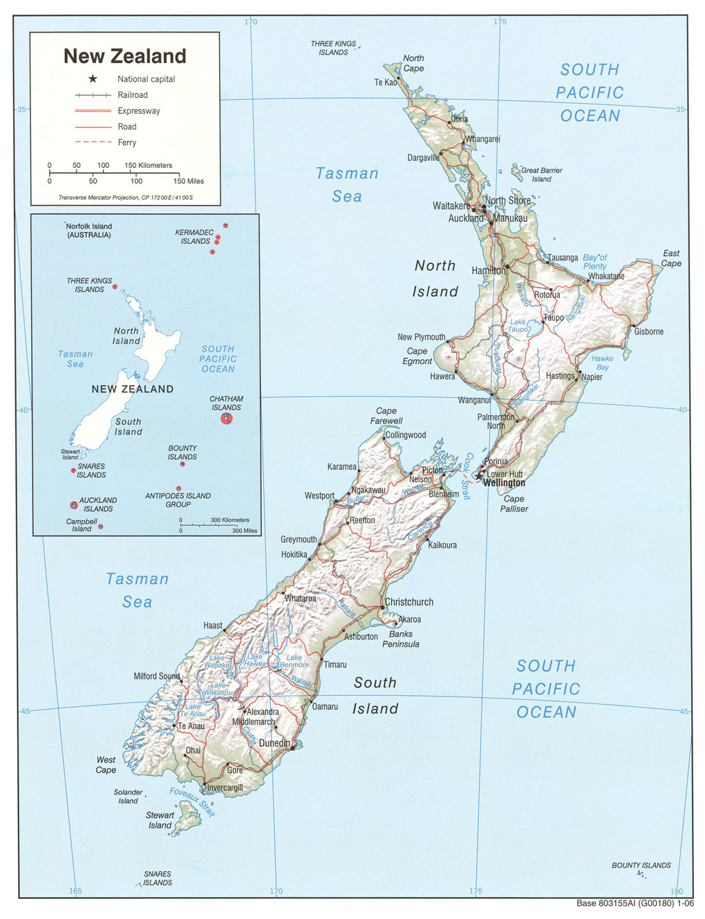 Maps of New Zealand maoripakehaconz